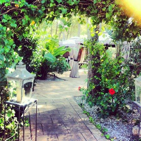Palau Verd Hotel : Hotel gardens