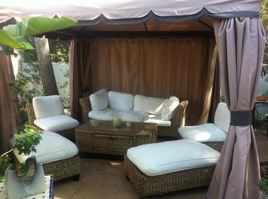 Palau Verd Hotel: Chill out area
