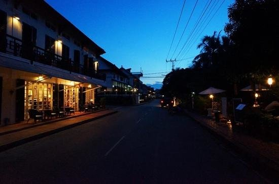 The Belle Rive Boutique Hotel: hotel street view