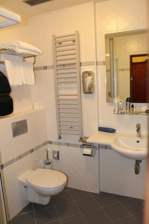 BEST WESTERN PLUS Hotel Meteor Plaza: Слева душевая кабина