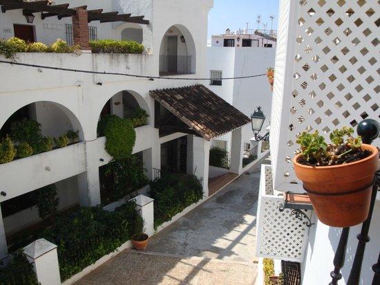 El Escudo de MIjas: The view from our belcony