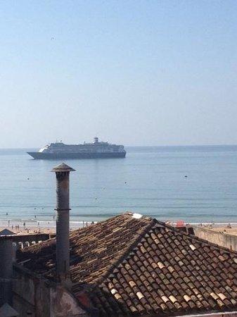 Hotel Avenida Praia: view from 208