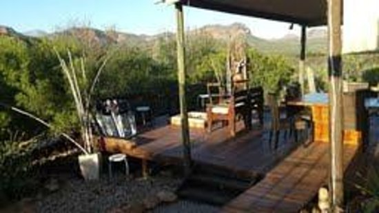Zwartberg View Mountain Lodge : comfort and relaxation