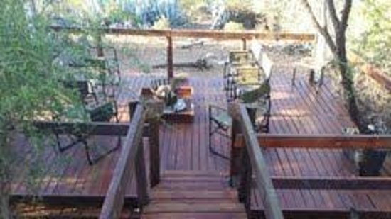 Zwartberg View Mountain Lodge : Upgraded extension to entertainment and dining area