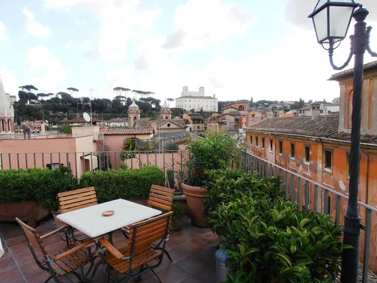 Hotel Mozart: View from the hotel roof terrace