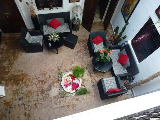 Riad Dar Khmissa: Le patio du riad