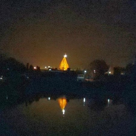 Ujjain, India: Mahakaal temple at night