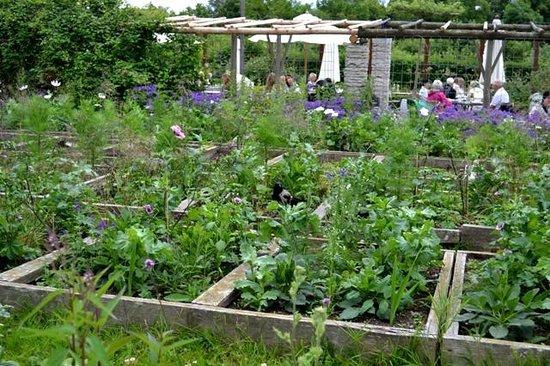 Rosendals Garden: Сад Розендаль, теплицы, кафе