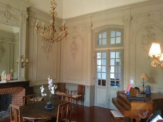 Domaine de Saint Jean des Plats : Salon