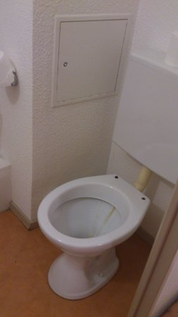 Hôtel balladins Chilly-Mazarin : 1 toilet - no toilet seat