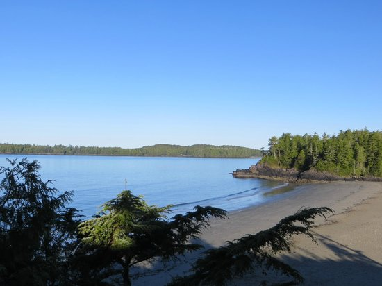 Middle Beach Lodge: View from room 26