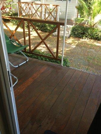 Camping La Focetta Sicula: veranda mobilhome