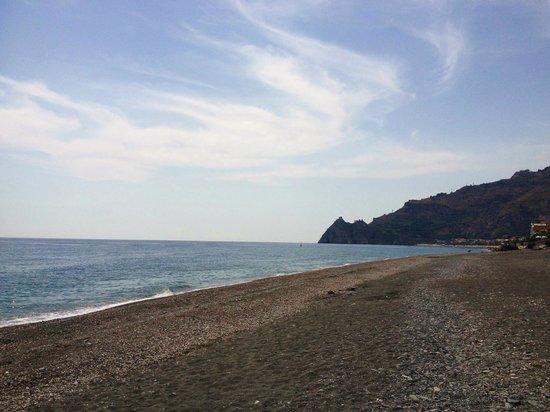 Camping La Focetta Sicula: vista spiaggia