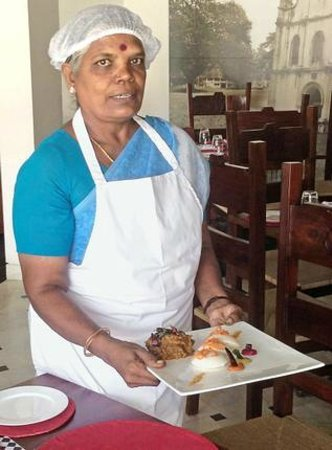 East Indies : visiting Chef Sholai Aachi from Chettinadu