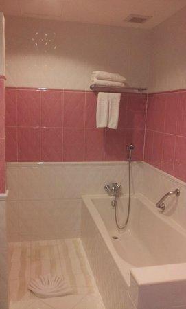 Jamahkiri Resort & Spa: Shower and bath