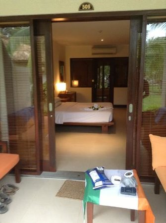 Blue Ocean Resort: our beautiful pool/beach villa.