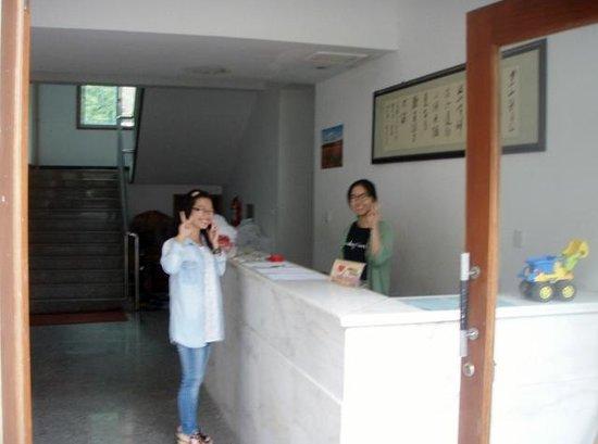 Guodong Shanshui Hotel: reception desk