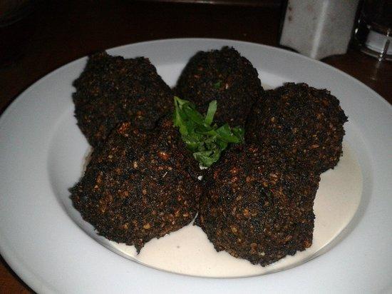 Zula: felafel di spinaci