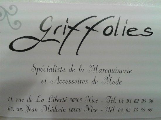 Griffolies