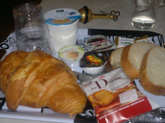Hotel Johnson : colazione ... super