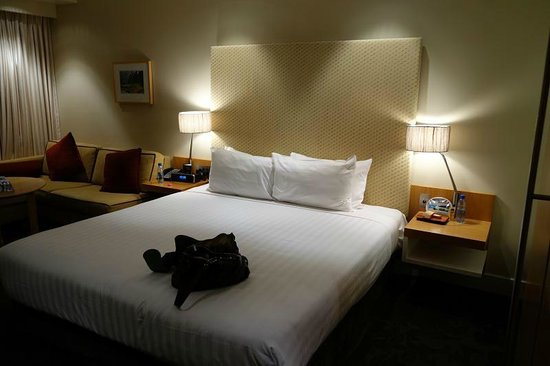 SKYCITY Grand Hotel: Comfortable bed