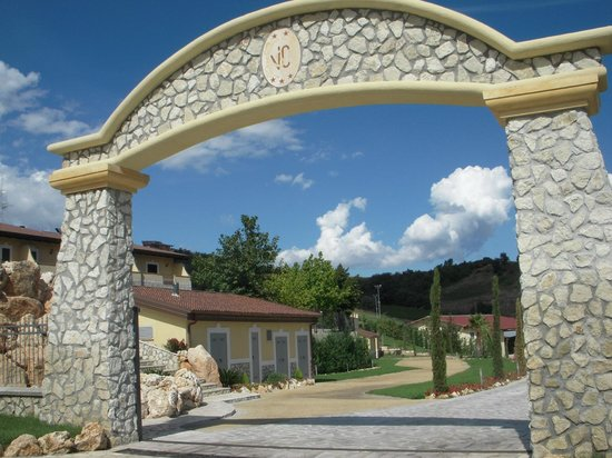 Agriturismo Villa Santa Caterina: 入り口