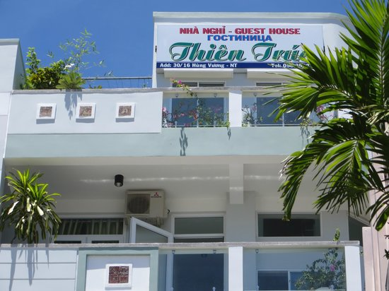 Thien Truc Hotel : balcony at the top floor