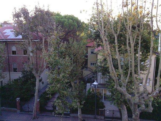 Aqua Hotel: view from a balcony