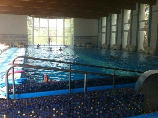 Romantik Hotel delle Rose: La piscina con idromassaggi
