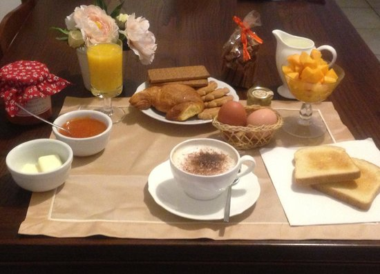 Sweet Tuscany: colazione