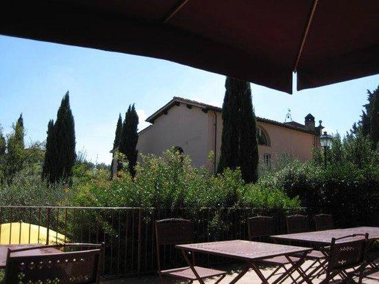 Hotel Villa La Cappella: Hotelgelände