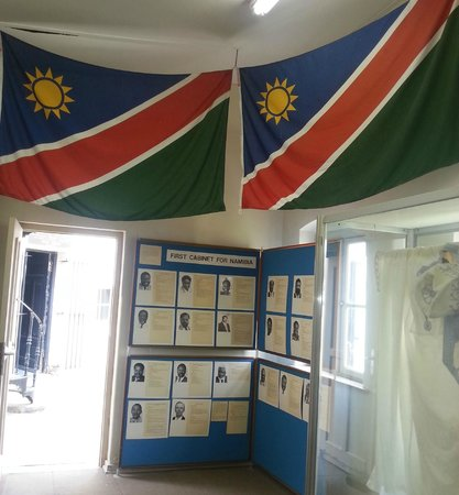 Inside the Owela Museum in Windhoek.