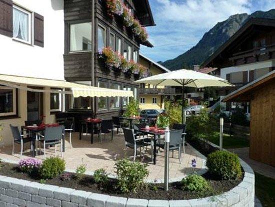 Hotel Engel, Terrasse