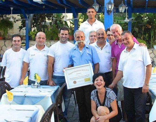 Moustakallis Tavern: Best staff ever !