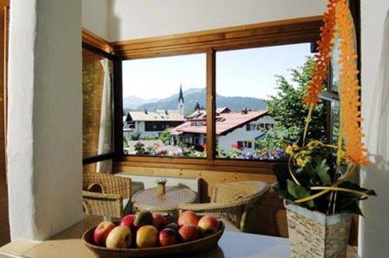 Hotel Engel: Aussicht aus DZ de Luxe