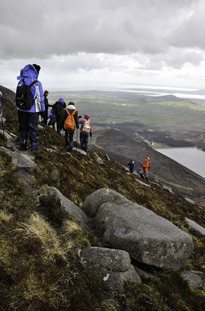 The Mourne Lodge: Walking in the Mournes