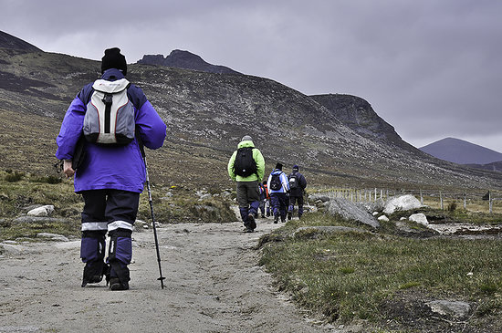 The Mourne Lodge: Walking near the Silent Valley
