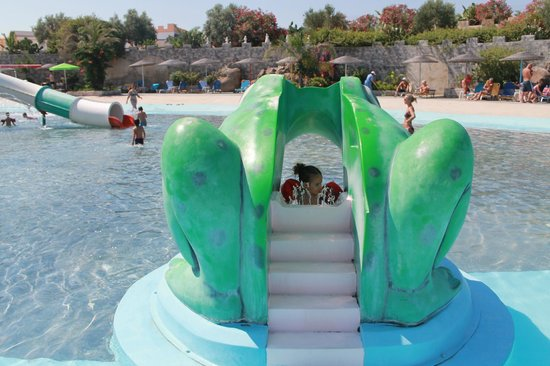 Lido Waterpark: baby slide