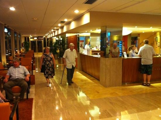 Servigroup Orange Hotel: Orange Reception