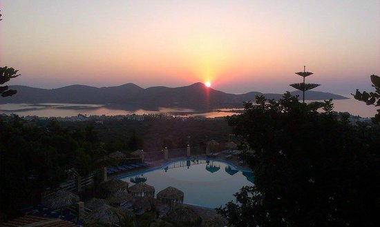 Elounda Residence: Sunset in Elounda Rsidence