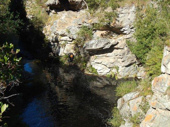 Tsitsikamma Falls Adventures: Wizzing over the falls