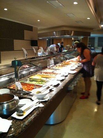 Servigroup Orange Hotel: orange buffet restaurant - nice & clean !
