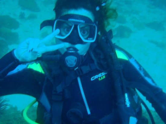 Thresher Shark Divers: Me while diving
