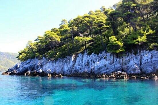 Sail the Day - Skiathos Sailing Trips: one our several snorkling stops