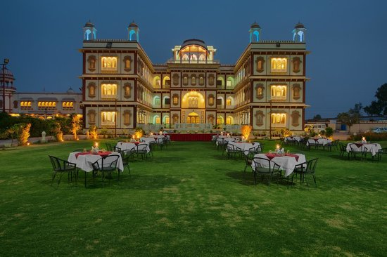 Hanumangarh, Índia: Garden restaurant