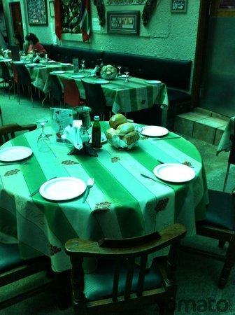 Restaurante Parreirinha : Nossa Mesa
