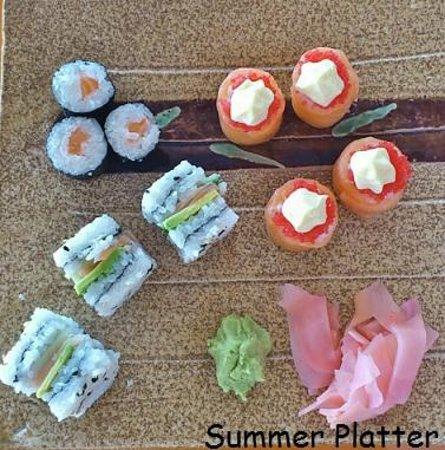 Wu's Chinese Restaurant and Sushi Express: SUSHI PLATTER