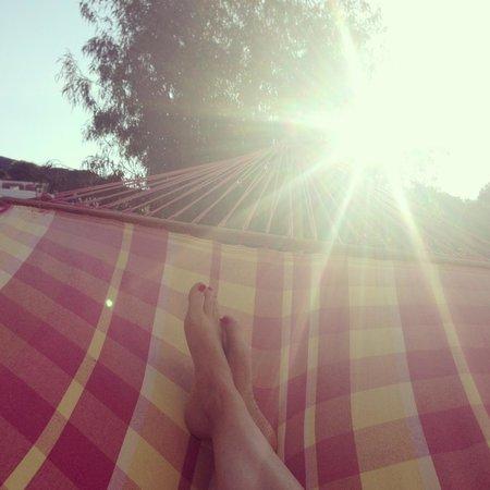 Piccolo Hotel Luisa: Auf der Sonnenterrasse