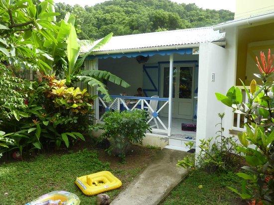 Fleurs des Iles : un bungalow