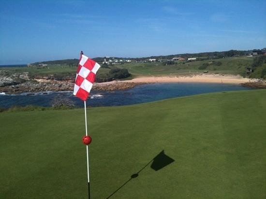 The Coast Golf Club - The Coast Restaurant: 14th Green looking back to club house